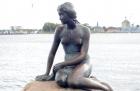 Kopenhaga. Pomnik Małej Syrenki