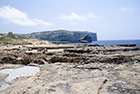Gozo. Azure Window. Okolice Azure Window. - foto: wnieznane.pl